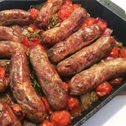 Sausage and Cherry Tomato