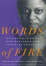 Words of Fire: An Anthology (Various)