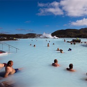 Bathe in the Blue Lagoon