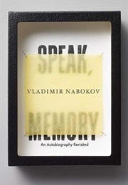 Speak, Memory (Vladimir Nabokov)