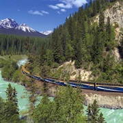 Rocky Mountaineer Banff to Vancouver