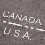 The Canada-USA Border Is the Longest in the World
