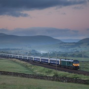 London to Fort William on the Caledonian Sleeper, UK