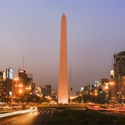 The Obelisk of Buenos Aires, Argentina