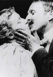 The Shocking Very First Kiss on Film in the Kiss (1896) (1901)