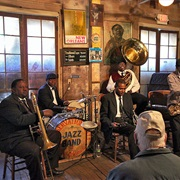 Preservation Hall in New Orleans, USA