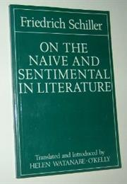 On the Naive and Sentimental in Literature