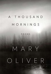 A Thousand Mornings (Mary Oliver)