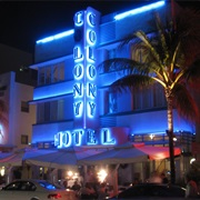 Art Deco Architecture in South Beach, Miami