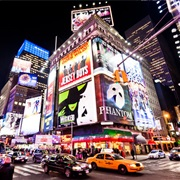 Catch a Broadway Show in New York City