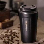 Use a Stainless Steel Coffee Cup