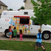 Get Ice Cream From an Ice Cream Truck