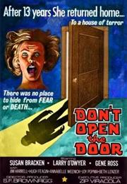 Don't Open the Door – SF Brownrigg (1975)