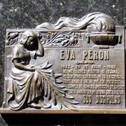Eva Peron's Remains in Recoleta Cemetary (City of the Dead) - Argentina