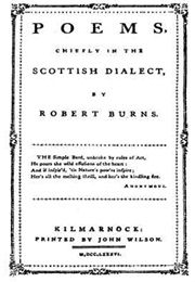 Poems, Chiefly in the Scottish Dialect (Robert Burns)