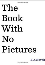 The Book With No Pictures (B.J. Novak)