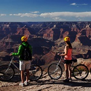 Rent a Bicycle to Ride Along the South Rim of the Grand Canyon
