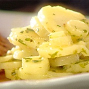 Cooked Parsnips