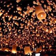 Go to a Floating Lantern Festival