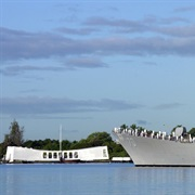 Pearl Harbor and USS Arizona Memorial