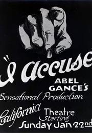 J'accuse (1919 - Abel Gance)