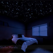 Have Glow in the Dark Stars on a Ceiling