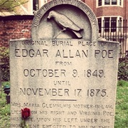 Edgar Allan Poe's Grave (Baltimore, MD)