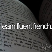 Be Fluent in French