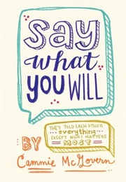 Say What You Will (Cammie McGovern)