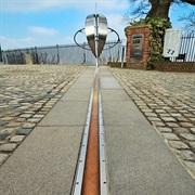 Stand on the Greenwich Meridian