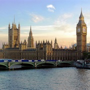 Palace of Westminster & the Big Ben, United Kingdom
