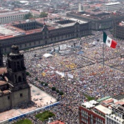 The Zócalo, Mexico City