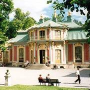 Drottningholm Theatre. Palace and Chinese Pavilion, Sweden