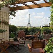 Sip a Cocktail in Front of the Eiffel Tower