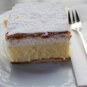 Bled Cream Cake in Slovenia