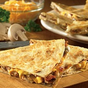 Alice Springs Chicken Quesadilla