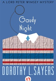 Gaudy Night - A Lord Peter Wimsey Mystery (Dorothy L. Sayers)