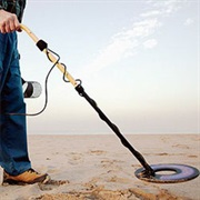 Find a Cool Object With a Metal Detector