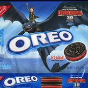 Red Cream Dragon Oreos