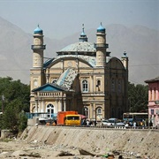 Shah-Do Shamshira Mosque, Kabul