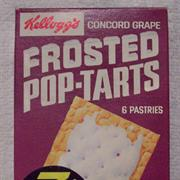 Frosted Concord Grape Pop Tart