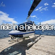 Ride in a Helicopter
