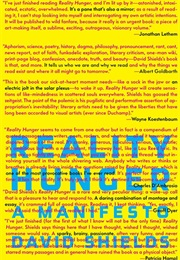 Reality Hunger (David Shields)