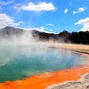 Rotorua Hot Springs, New Zealand