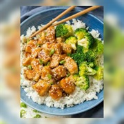 Honey Sesame Chicken & Broccoli