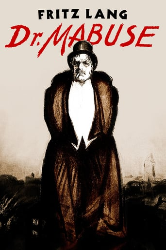 Dr. Mabuse, the Gambler (1922)
