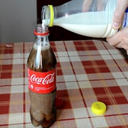 Cola Mixed With Milk