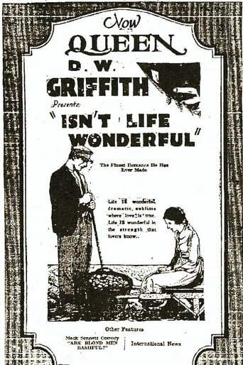 Isn't Life Wonderful (1924)