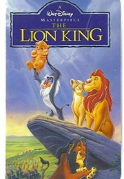 The Lion King (1995 VHS) (1995)