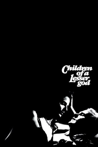 Children of a Lesser God (1986)